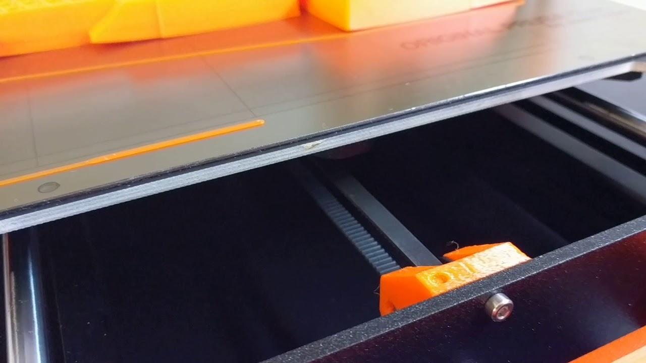 Prusa I3 MK3 Assembled - Linear Bearings Noise