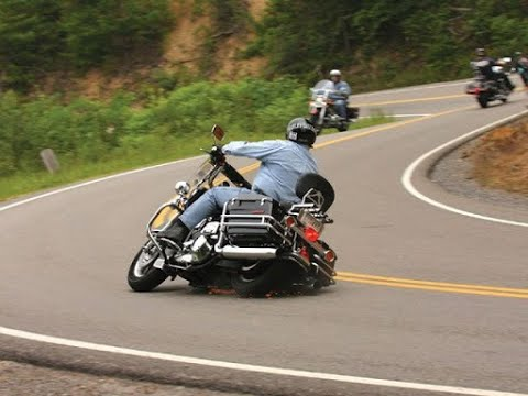Download Why do motorcycle riders keep running off the road?  Is it age?