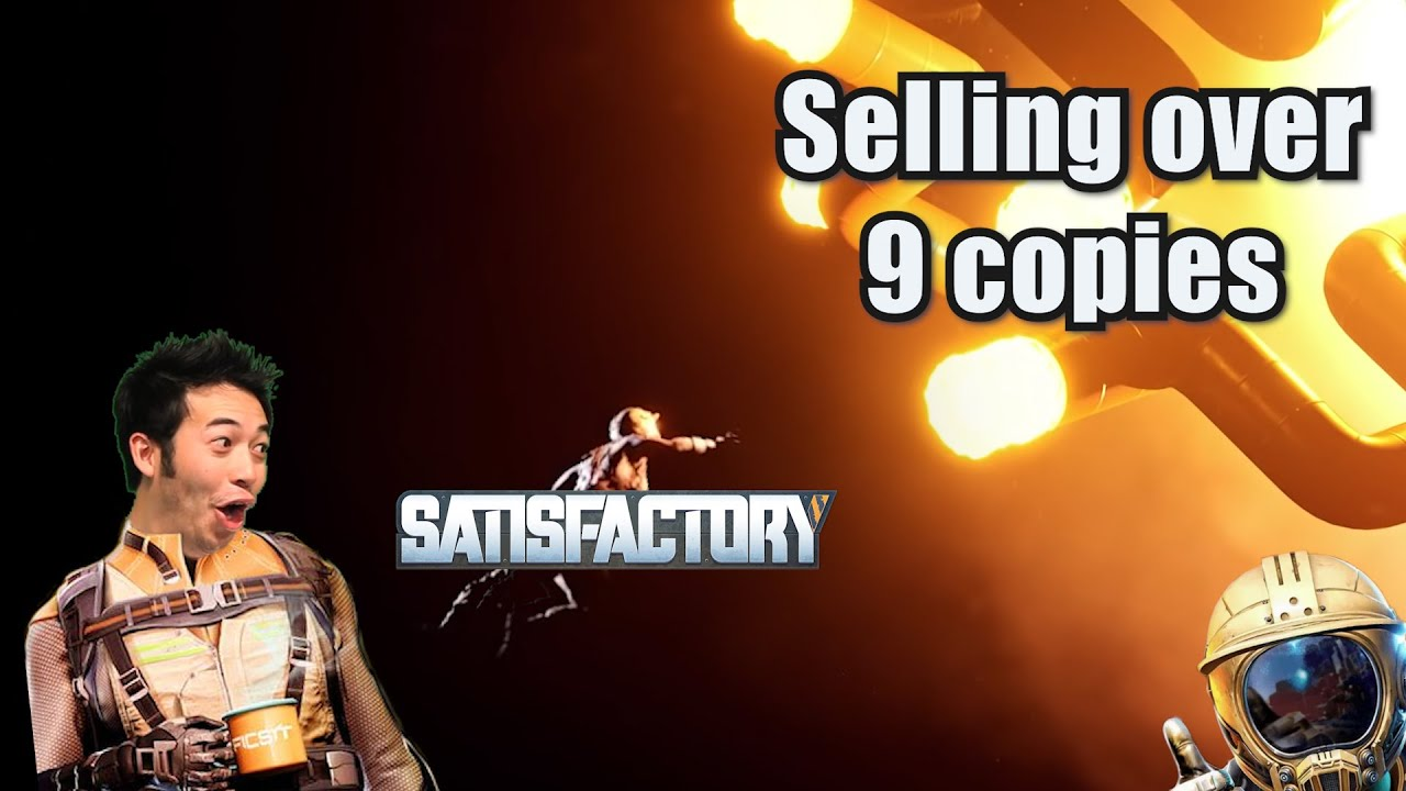 Releasing Satisfactory's Total Number of Sales