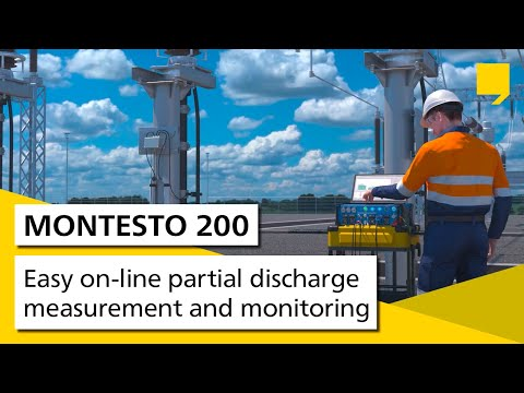MONTESTO 200 – Easy On-line Partial Discharge Measurement And Monitoring
