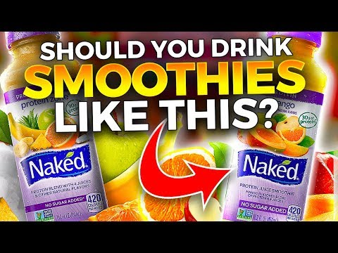 The Truth About Smoothies Sold In Stores