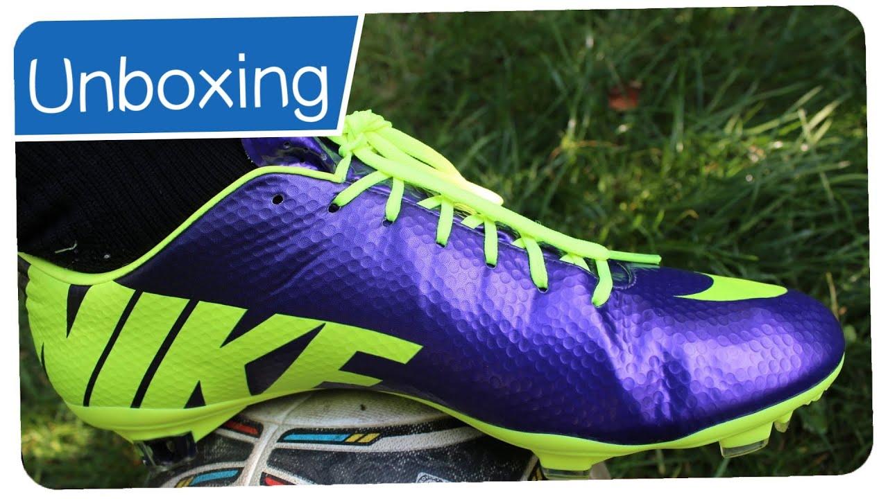 Nike Mercurial Vapor 9 FG HI-VISIBILITY - IBRAHIMOVIC boots - Unboxing -  YouTube