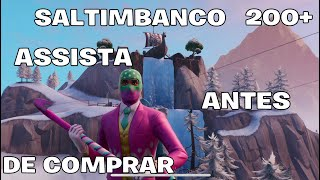 "NEW SKIN SALTIMBANCO FORTNITE ""SKIN EASTER & 200 + BACKPACKS AND NEW PICKAXE BREAK! SKIN COMBOS"