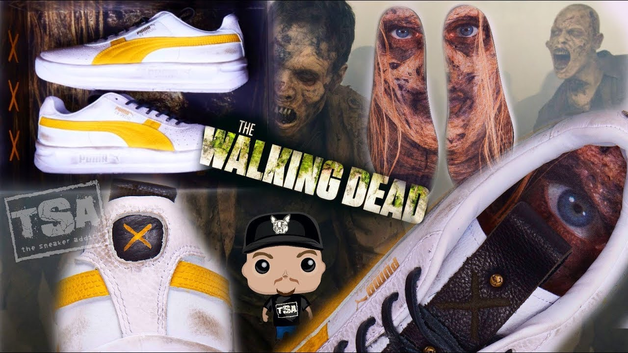 THE WALKING DEAD FOOTLOCKER PUMA