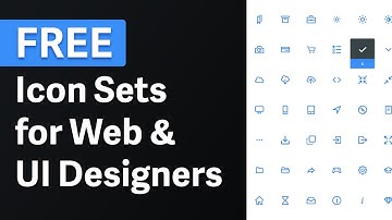 Best Icon Libraries for every UI Designer → Free icons sets for UI Design & Web Design