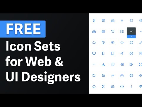 Best Icon Libraries For Every UI Designer → Free Icons For UI Design And Web Design