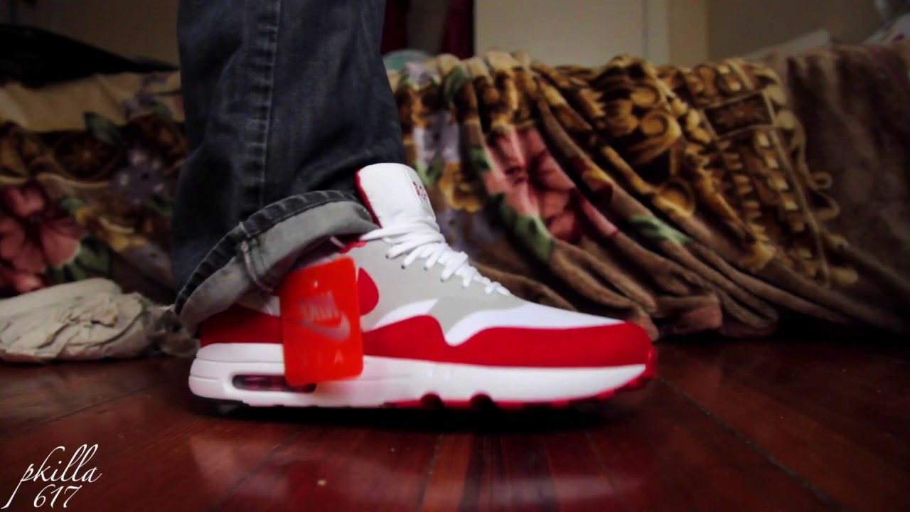 Nike AIR MAX 1 'ULTRA 2.0 REVIEW AND ON FEET!!! AIRMAX DAY 32617