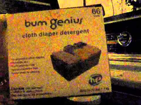 How To Wash Bum Genius Cloth Diapers Youtube