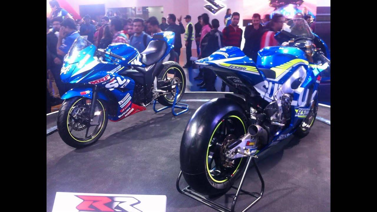 Suzuki Bikes In India Suzuki Bikes At Delhi Auto Expo 2016 Youtube