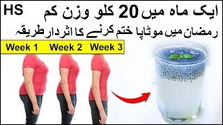 Ramadan Weight Loss Diet Plan 2019 Urdu Hindi Lose Weight Fast