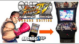 Super Street Fighter 4 in your Arcade1up - Part 2 Video