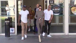 Baixar EXCLUSIVE : Kendall Jenner arriving at Nice airport for Cannes Film Festival