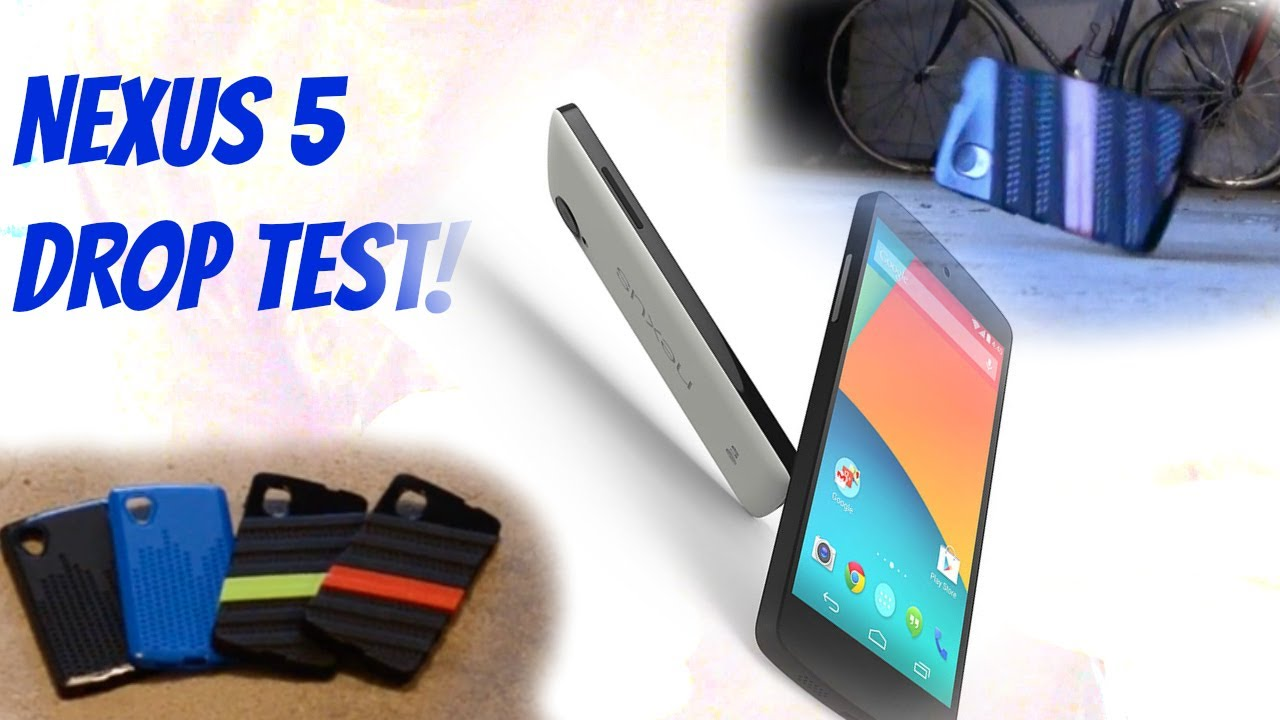 new concept b53cd bf31d Nexus 5 Drop Test! (Tudia Wav Hybrid Case Demo)