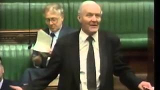Tony Benn gives speech in parliment about supplying the middle east with weapons thumbnail