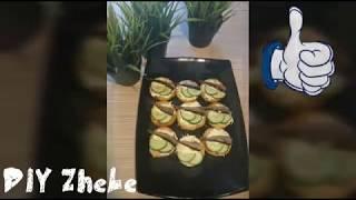 Обалденные бутерброды со шпротами & закуска на праздничный стол & быстрая закуска