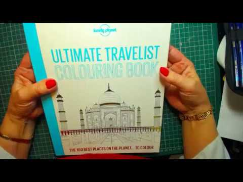 The Ultimate Travelest Colour book Flip and Dismantle