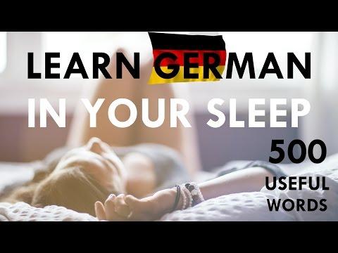 Deutsch lernen im Schlaf mit klassischer Musik | Learn German HD♫