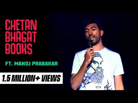 Download Youtube: Chetan Bhagat Books- Stand-Up comedy video by Manoj Mento