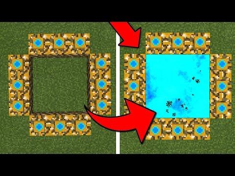 how to make the ender dragon portal pe