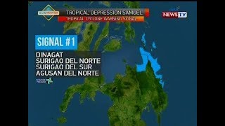 NTG: Weather update as of 11:06 a.m. (November 19, 2018)