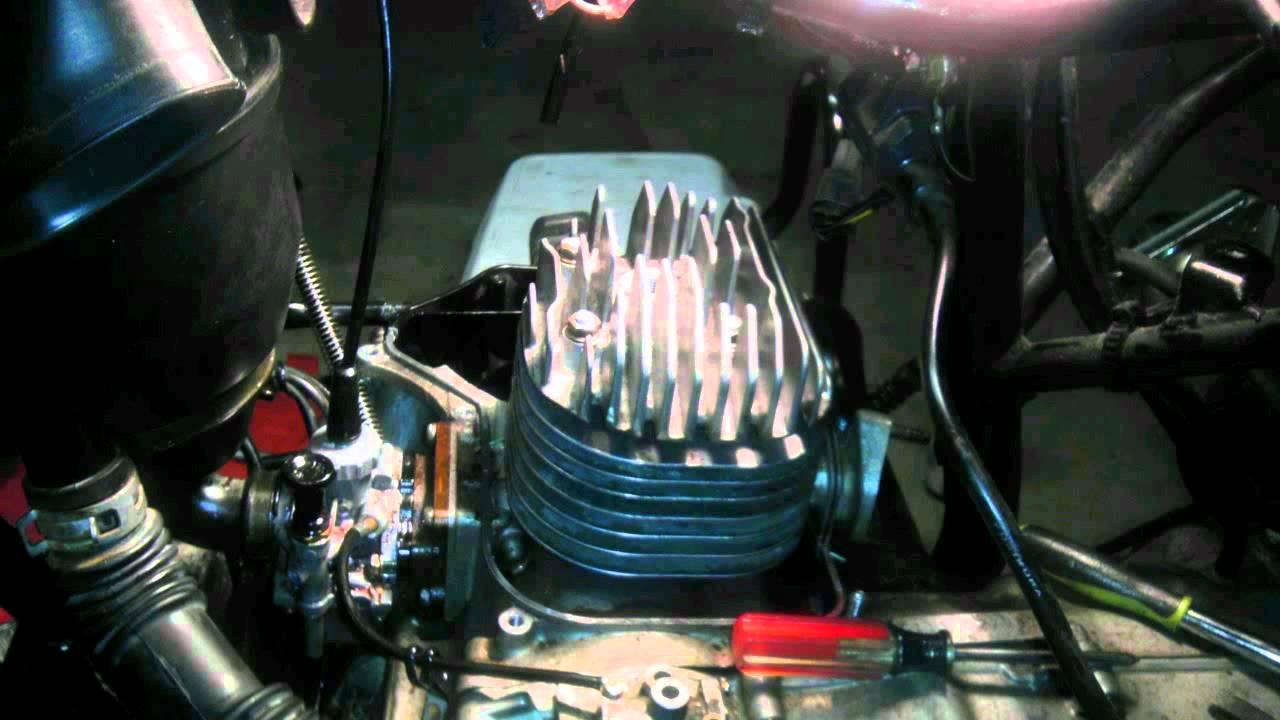 2005 Suzuki LT 80 Quadsport rebuild