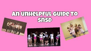 Download unhelpful guide to snsd (ot9) Mp3 and Videos