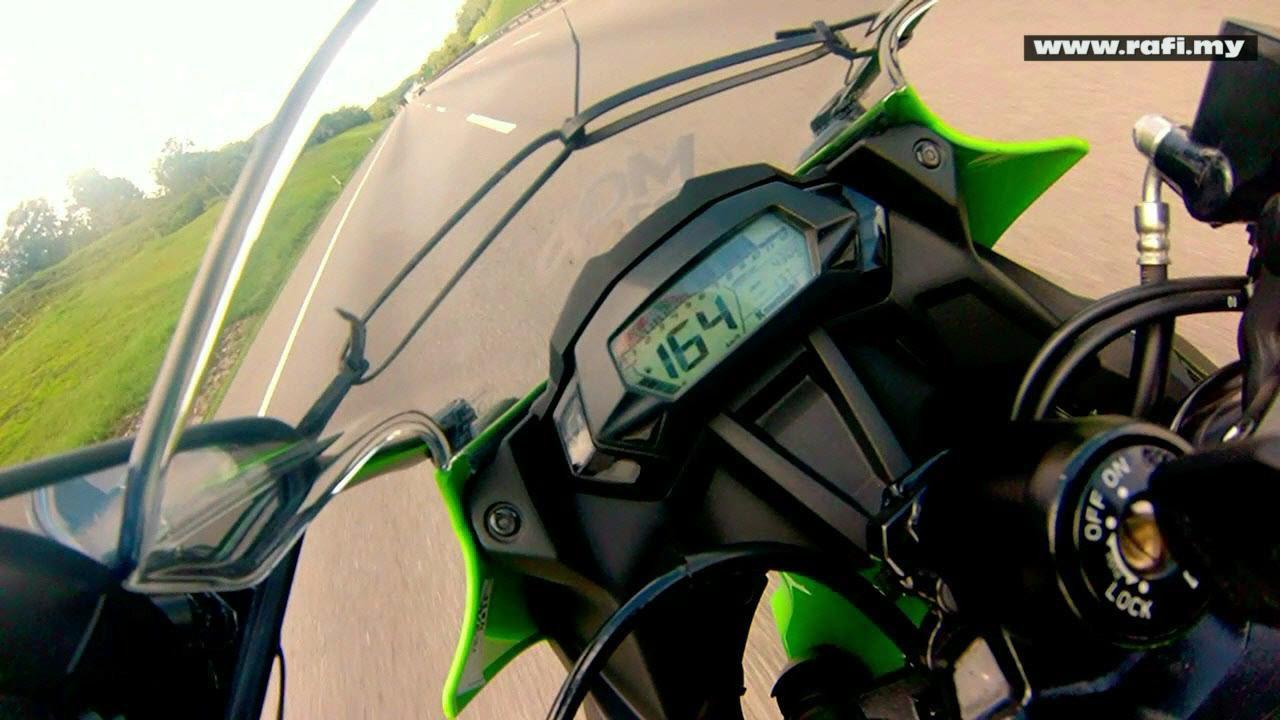 2015 Kawasaki Ninja 250sl Top Speed Youtube