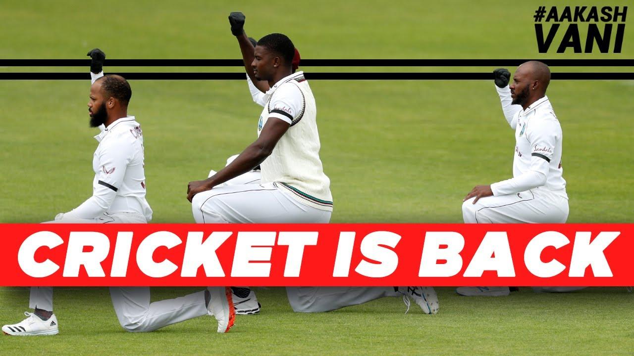 International CRICKET is BACK, finally! | #AakashVani | ENG vs WI Test Series