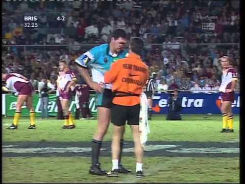 Super League Grand Final 1997 First half Cronulla Sharks Vs Brisbane Broncos
