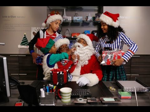 black ish after show season 1 episode 10 black santawhite christmas afterbuzz tv - When Is White Christmas On Tv
