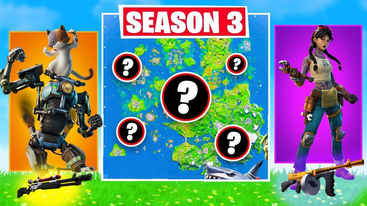 The *RANDOM* BOSS Challenge in Fortnite! (SEASON 3)