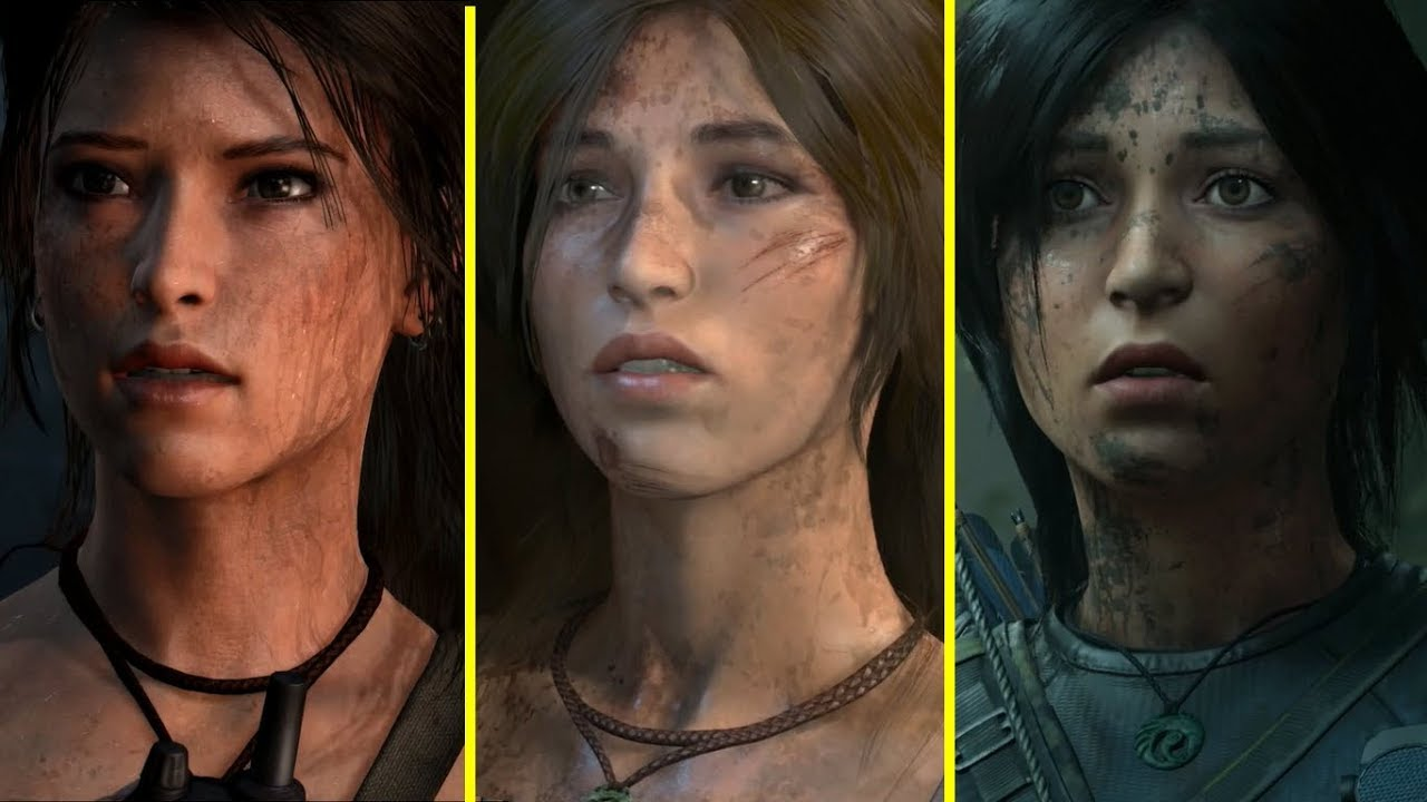Tomb Raider Vs Rise Of The Tomb Raider Vs Shadow Of The Tomb