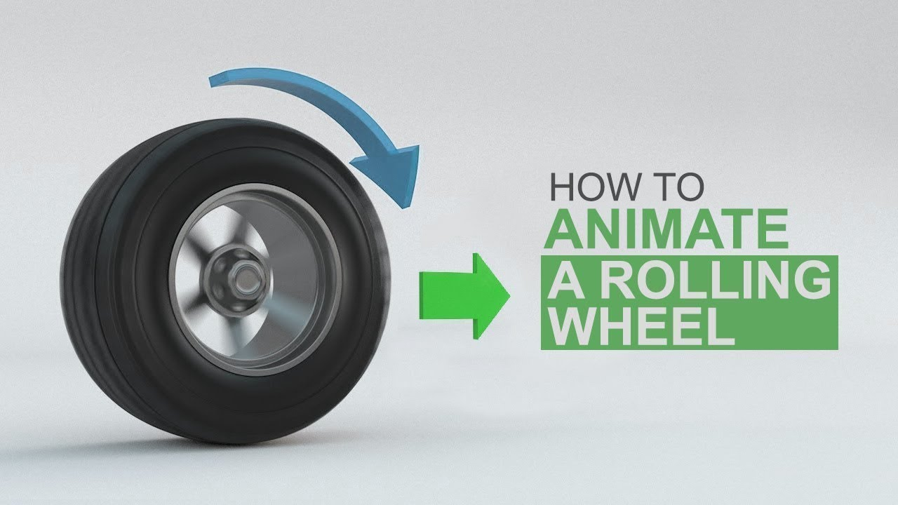 The Fundamentals of Animating a Rolling wheel in C4D