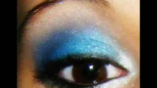 Blue Ocean Makeup Look