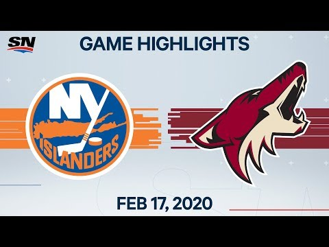 NHL Highlights | Islanders vs. Coyotes – Feb. 17, 2020