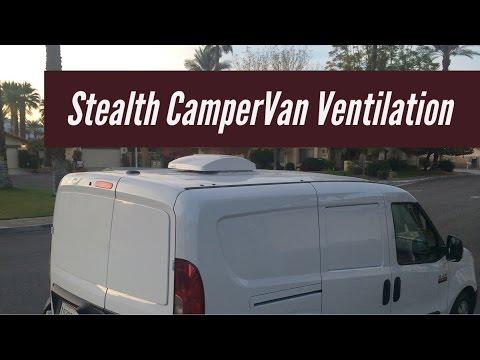 Stealth CamperVan Ventilation