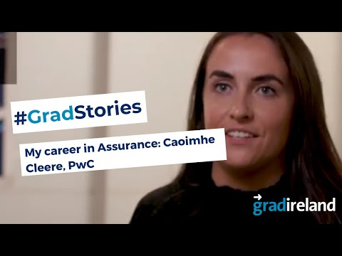 My Career in Assurance: Caoimhe Cleere, Assurance Associate, PwC