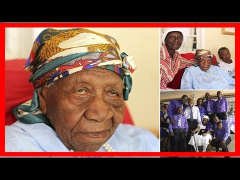 World's oldest person violet mosse brown dies age 117 in jamaica