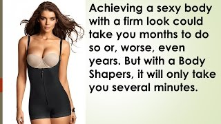 Look slimmer in a seamless body shaper