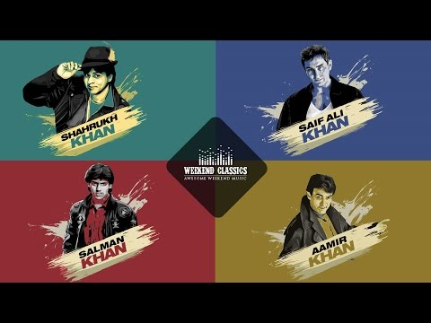 Weekend Classic Collection | Bollywood Khans Special | HD Songs Jukebox