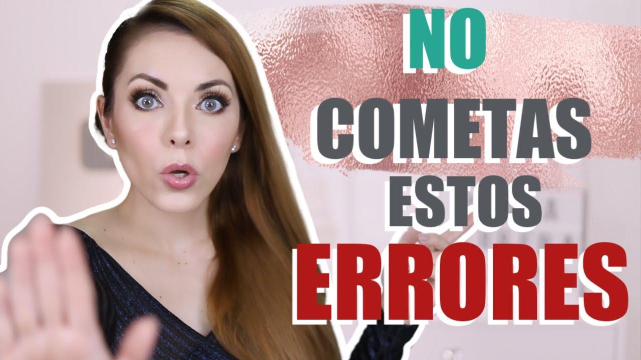 DEJA DE COMETER ÉSTOS ERRORES EN TU VIDA! (CHISME INCLUIDO!)