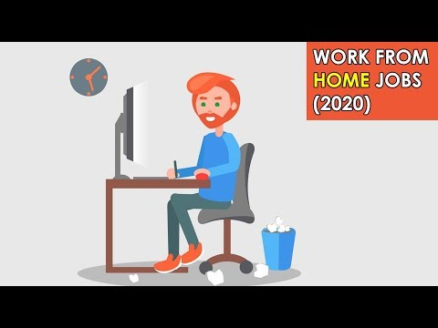 Work From Home Jobs (Without Experience) (2020)