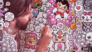 ♥ I Love Kawaii Graffiti ♥ Cute Doodles by Garbi KW ♥