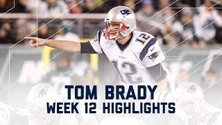 Tom Brady's Clutch 200th Career Win! | Patriots vs. Jets | NFL Week 12 Player Highlights