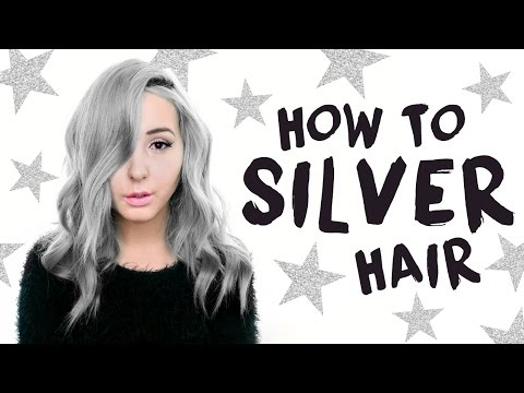 How To: Silver/Grey Hair Tutorial! | by tashaleelyn
