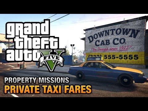 GTA 5 - Private Taxi Fares [All's Fare in Love and War Achievement / Trophy]