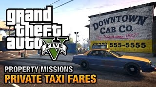 GTA 5 - Private Taxi Fares [All