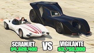 GTA 5 Online - SCRAMJET vs VIGILANTE ($4,628,400 vs $3,750,000)