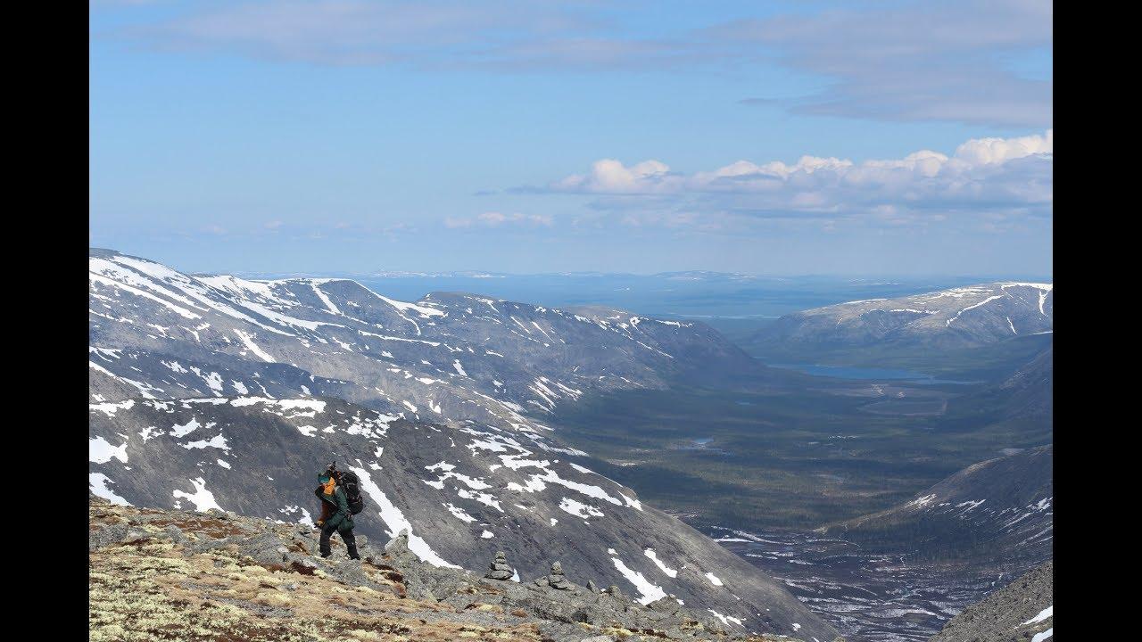 1 VloG: Хибины июнь 2017. Пеший поход 2 кс. Экзамен и практика в Школе Туризма