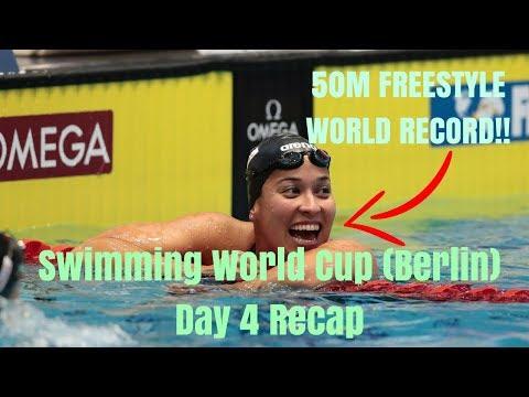 Swimming World Cup 2017 (Berlin) - Day 4 Recap